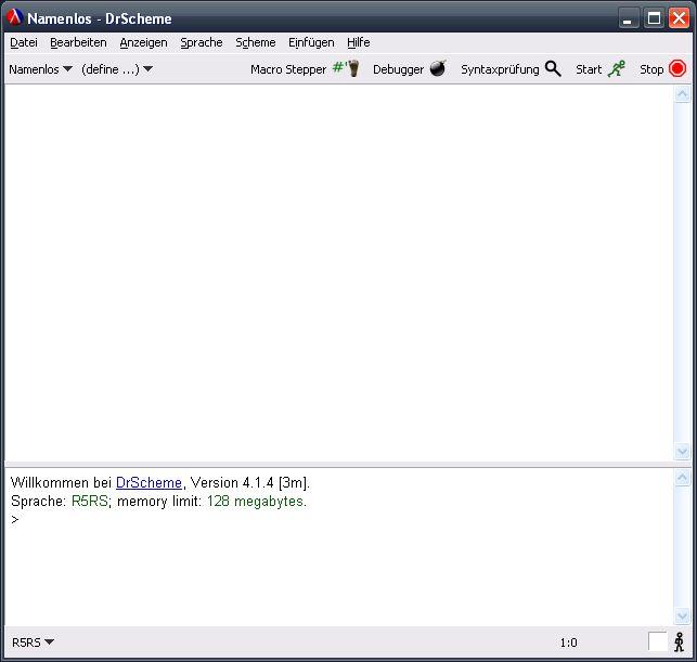 Funktionale programmierung mit scheme